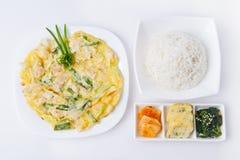 Koreański posiłek Fotografia Royalty Free