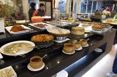 Koreańskie bufet restauraci kuchnie zdjęcia royalty free