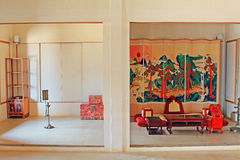 Korea ancient life home furnishings royalty free stock image