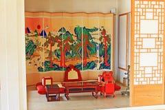 Korea ancient life home furnishings stock photos