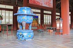 Korea ancient life home furnishings royalty free stock photos