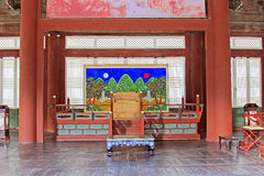 Korea ancient life home furnishings stock images
