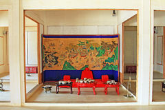 Korea ancient life home furnishings Stock Photos