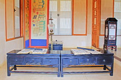 Korea ancient life home furnishings Stock Images