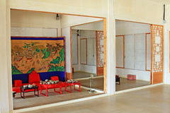 Korea ancient life home furnishings royalty free stock images