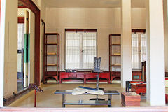 Korea ancient life home furnishings Royalty Free Stock Photo