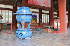 Korea ancient life home furnishings Royalty Free Stock Photos