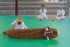 Korea Andong Mask Dance Royalty Free Stock Photo