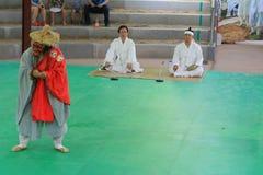 Korea Andong Mask Dance Royalty Free Stock Photos
