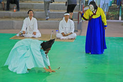 Korea Andong Mask Dance Stock Images