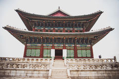 Korea Architecture, Palace Royalty Free Stock Photography
