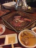 Korea bbq Royaltyfri Bild