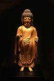 Korea Buddha Statue. Korea Ancient Buddha Stone Statue Stock Photography