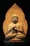 Korea Buddha Statue. Korea Ancient Buddha Stone Statue Stock Images