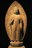 Korea Buddha Statue. Korea Ancient Buddha Stone Statue Royalty Free Stock Photography