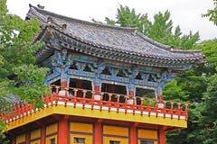 Korea Busan Beomeosa tempel fotografering för bildbyråer