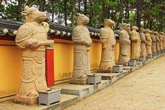 Korea Busan Haedong Yonggungsa tempel arkivfoton