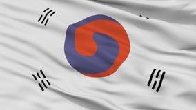 Korea 1882 Closeup för 1910 flagga arkivbilder
