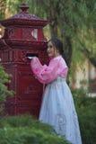 Koreańczyk suknia Fotografia Royalty Free