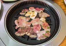 Koreańczyka BBQ Obraz Royalty Free