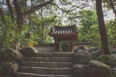 Koreańczyka ogród w Guangzhou miasta parku, Chiny Zdjęcia Royalty Free