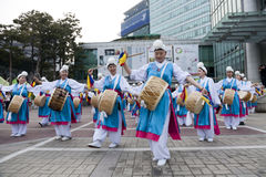 Korea dance Royalty Free Stock Images