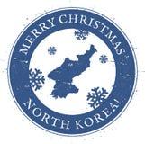Korea, Democratic People`s Republic Of map. Royalty Free Stock Photos