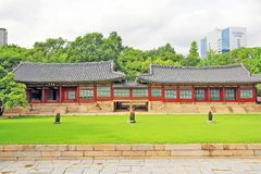 Korea Deoksugung Palace Stock Photos