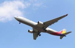 Korea-Flugzeug Lizenzfreie Stockfotos