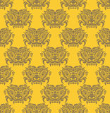 Korea Goblin pattern Design. Korean traditional Pattern is a Pat Royalty Free Stock Photography