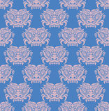 Korea Goblin pattern Design. Korean traditional Pattern is a Pat Royalty Free Stock Photos