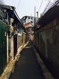 Korea gränd arkivbilder