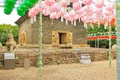 Korea Gyeongju Bunhwangsa Temple. Bunhwangsa Temple was built during the year 634 and the third year of Queen Seondeok`s rule, the 27th ruler of the Silla stock photos