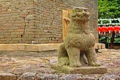 Korea Gyeongju Bunhwangsa Temple. Bunhwangsa Temple was built during the year 634 and the third year of Queen Seondeok`s rule, the 27th ruler of the Silla stock image