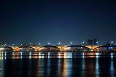 Korea Han-river's bridge stock photos