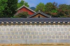 Korea Jeonju Gyeonggijeon Shrine Royalty Free Stock Photo