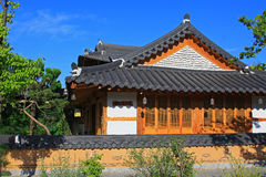 Korea Jeonju Hanok Village Royalty Free Stock Image