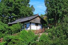 Korea Jeonju Hanok Village Stock Photos