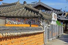 Korea Jeonju Hanok Village Royalty Free Stock Images