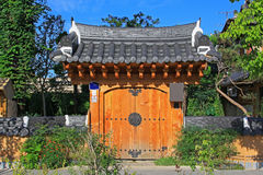 Korea Jeonju Hanok Village Stock Image