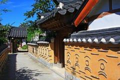 Korea Jeonju Hanok Village Royalty Free Stock Photo