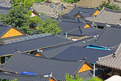 Korea Jeonju Hanok Village Royalty Free Stock Photos