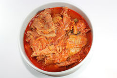 Korea kimchi chigae Stockfoto