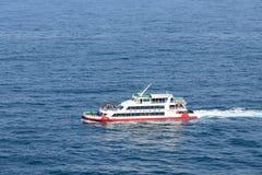 , Korea, Kwiecień - 11, 2015: Sanbangsan statek wycieczkowy Zdjęcie Stock