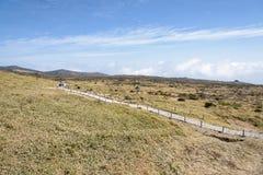, Korea, Kwiecień - 09, 2015: Krajobraz plateau w Hallasa Fotografia Royalty Free