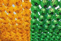 Korea lampion obrazy royalty free