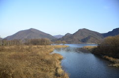 Korea landskap Royaltyfri Bild