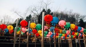 Korea lykta Arkivbild