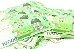 Korea Money Stock Images