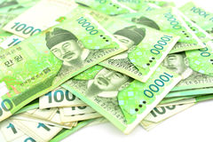 Korea Money Royalty Free Stock Photo
